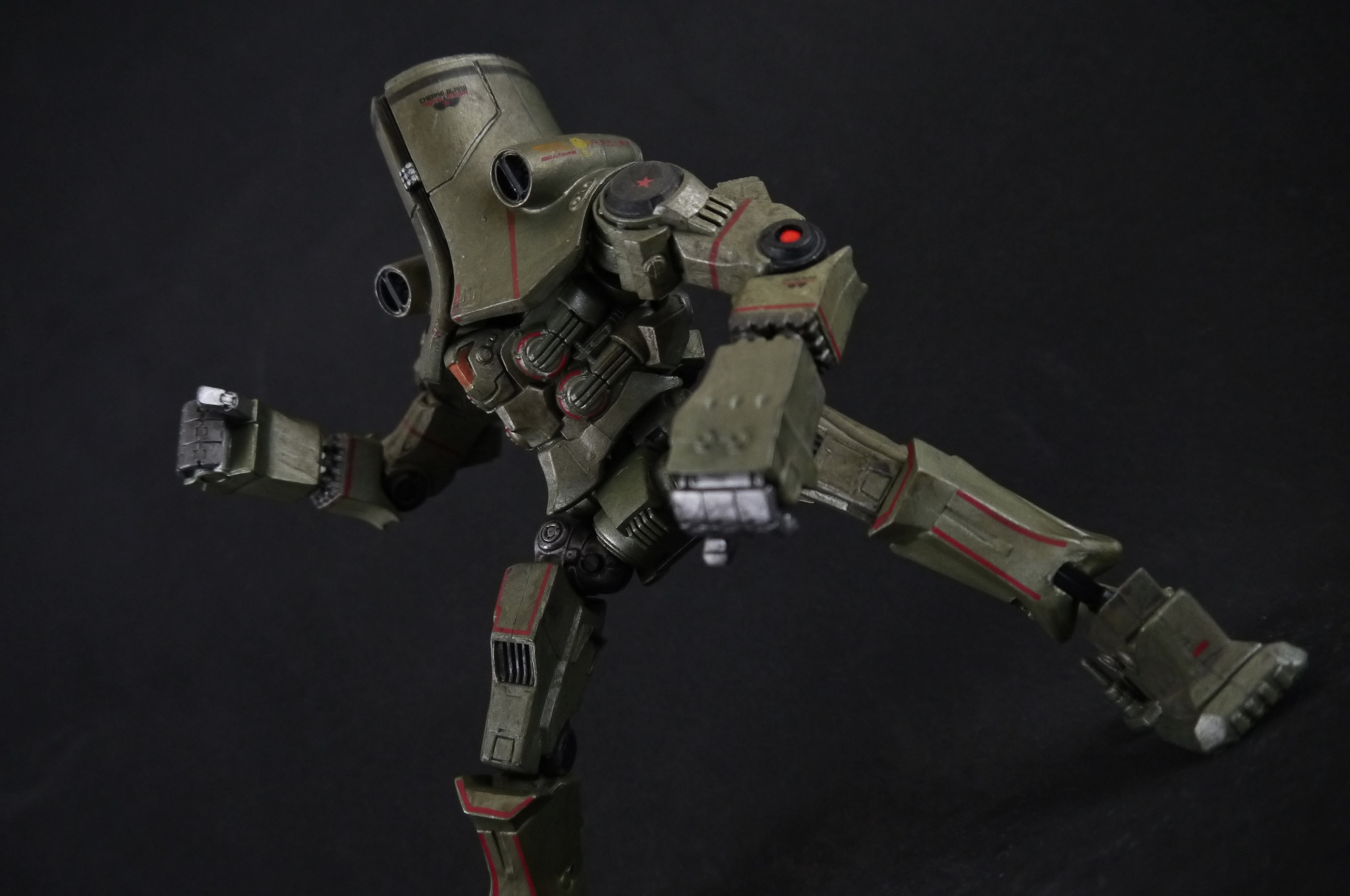 NECA 7″ Cherno Alpha | Supar Robo Pacific Rim Cherno Alpha Pilots