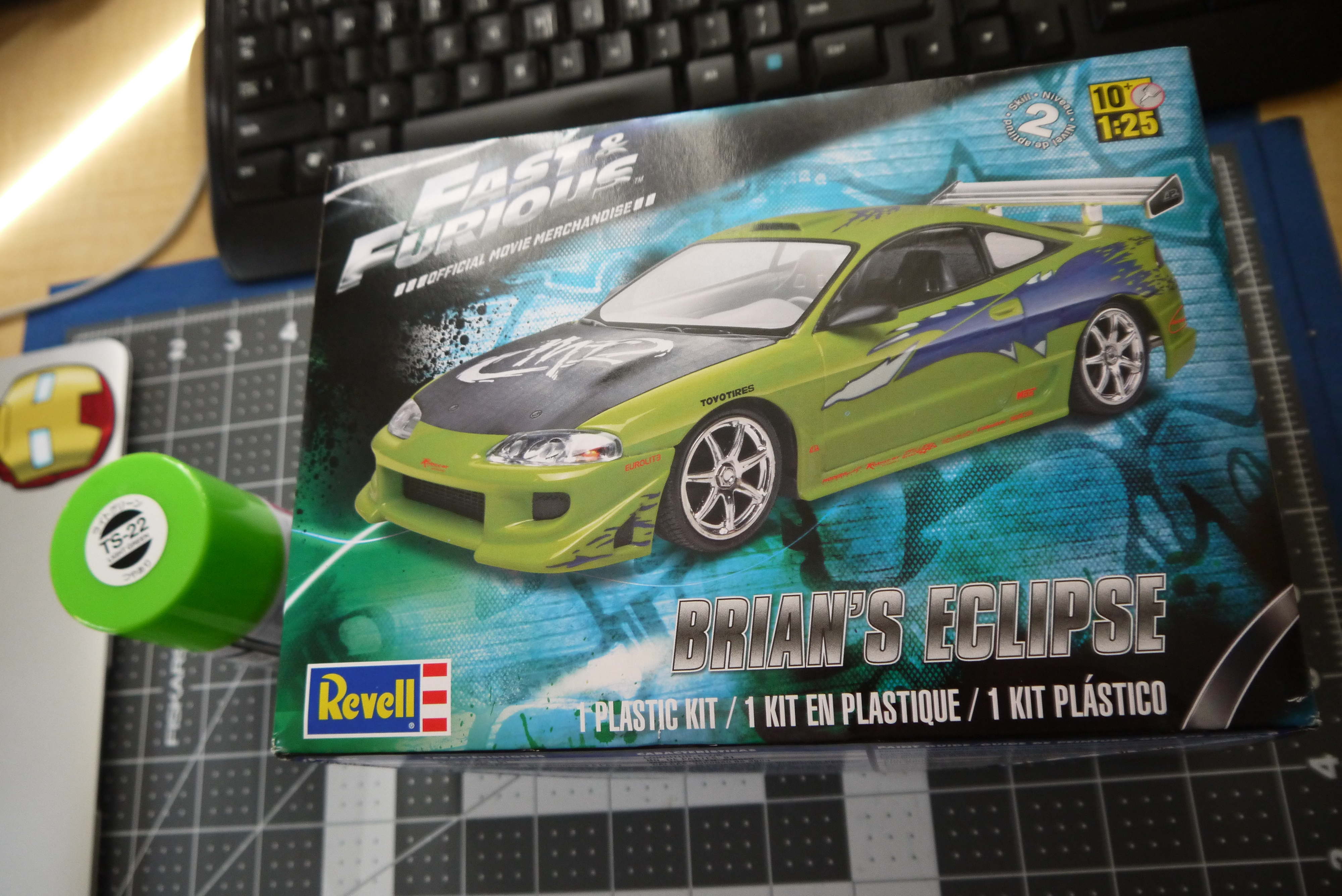 revell fast and furious brian s mitsubishi eclipse supar robo