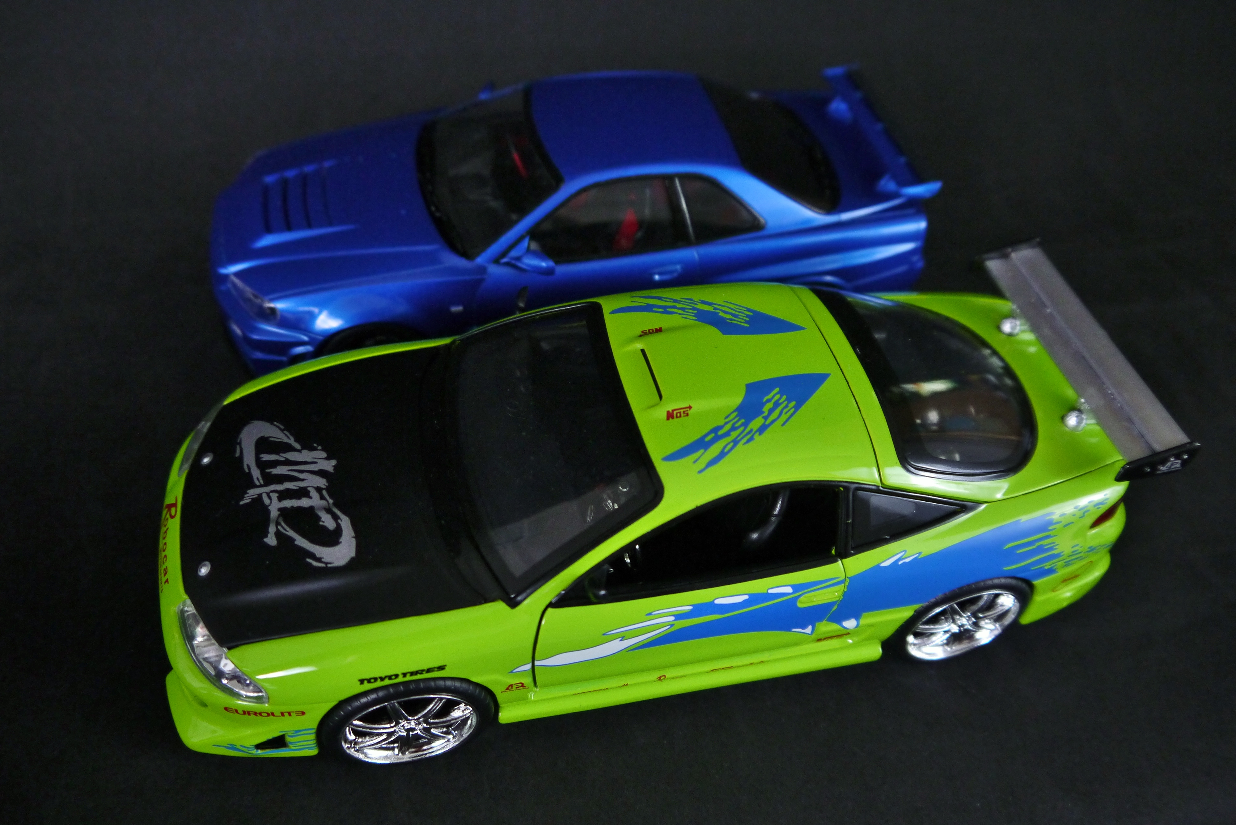 The Jada Eclipse Next To My Recently Built Tamiya GT R R34. The Sizing  Issue With The Jada Cars Only Really Started To Bother Me Once I Placed  These Two ...